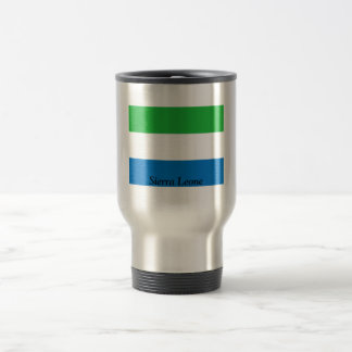 Flag of Sierra Leone Travel Mug