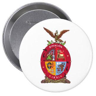 Flag of Sinaloa Button