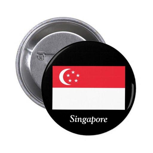 Flag of Singapore Pin