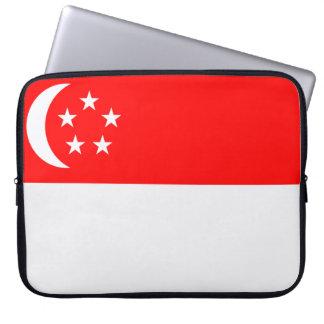 Flag of Singapore Computer Sleeve