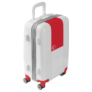 Flag of Singapore Luggage (Carry-On)