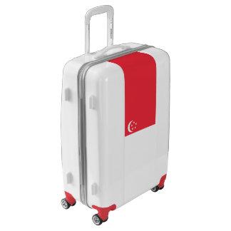 Flag of Singapore Luggage (Medium)