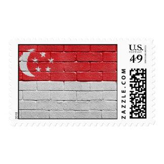 Flag of Singapore Stamp