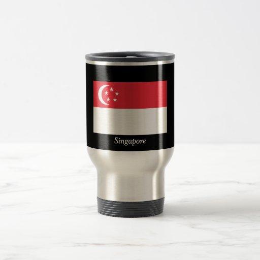 Flag of Singapore Travel Mug