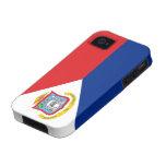 Flag of Sint Maarten iPhone 4 Case-Mate Vibe™