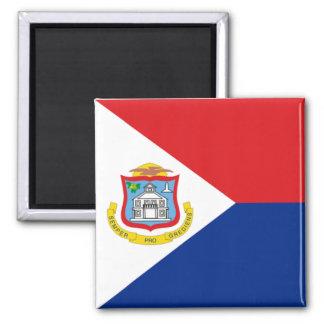 Flag of Sint Maarten Refrigerator Magnets