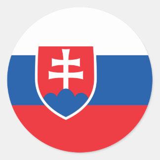 Flag of Slovakia Sticker