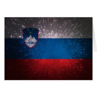 Flag of Slovenia Card