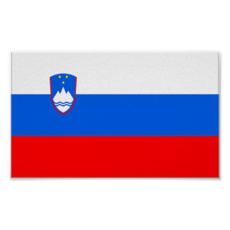 Flag of Slovenia Poster