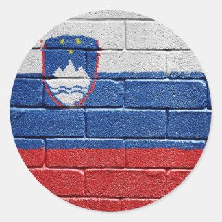 Flag of Slovenia Sticker