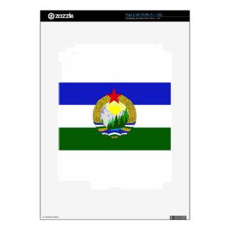 Flag of Socialist Cascadia Decal For The iPad 2