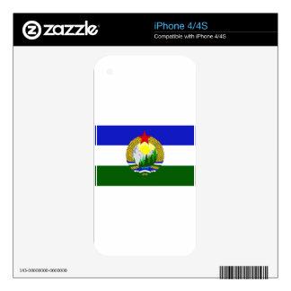 Flag of Socialist Cascadia Skins For iPhone 4S
