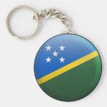 Flag of Solomon Islands Key Chains