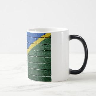 Flag of Solomon Islands Magic Mug