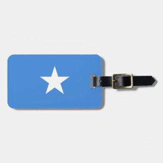 Flag of Somalia Luggage Tag w/ leather strap