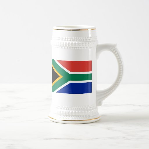 Flag of South Africa 18 Oz Beer Stein