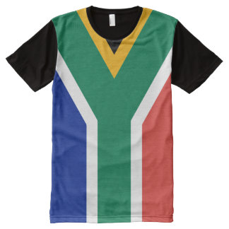 Flag of South Africa All-Over Print T-shirt