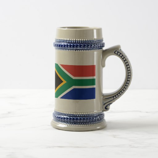 Flag of South Africa Beer Stein