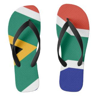 Flag of South Africa Bokke Flip Flops
