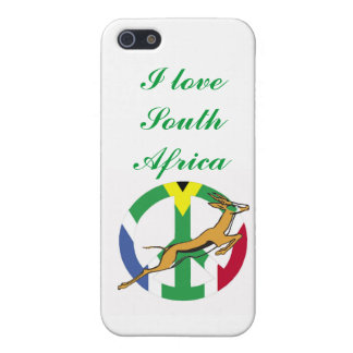Flag of South Africa Bokke iPhone SE/5/5s Case