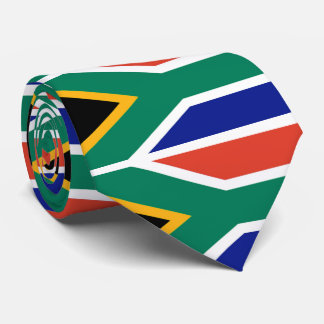 Flag of South Africa Bokke Neck Tie