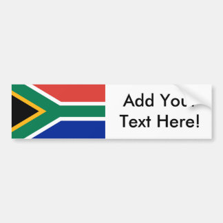 Flag of South Africa Bumper Sticker