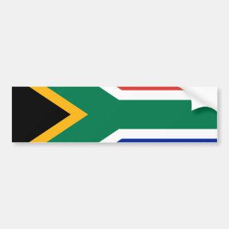 Flag of South Africa Bumper Sticker