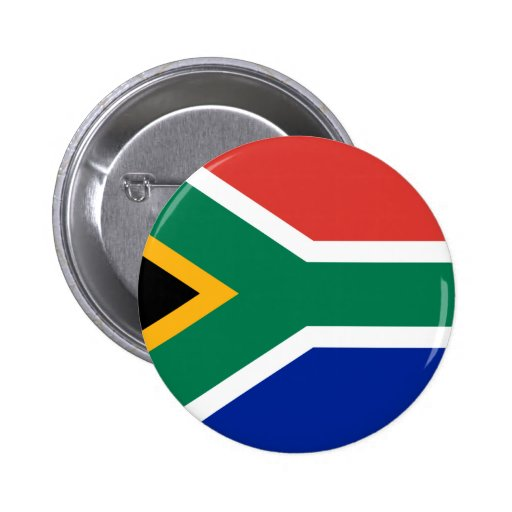 Flag of South Africa Buttons