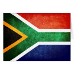 Flag of South Africa Card