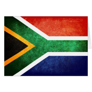 Flag of South Africa Cards