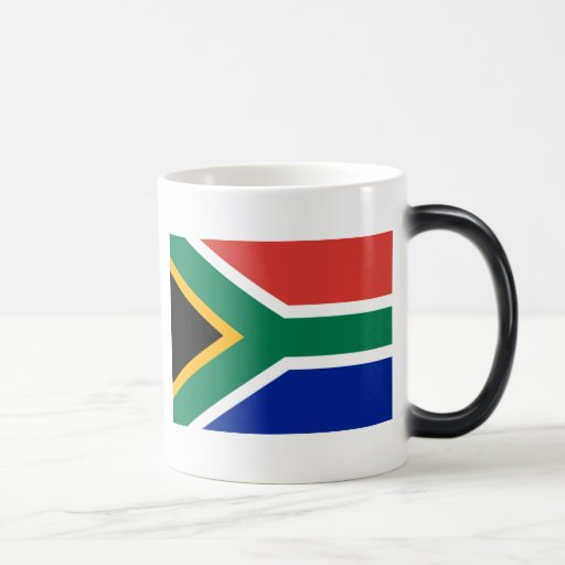 Flag of South Africa Magic Mug