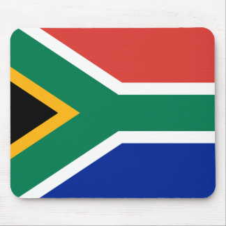 Flag of South Africa Mouse Pads