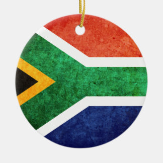 Flag of South Africa Christmas Tree Ornament