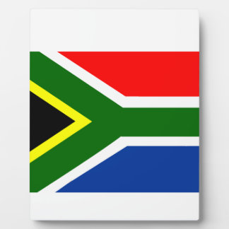 Flag of South Africa Plaque