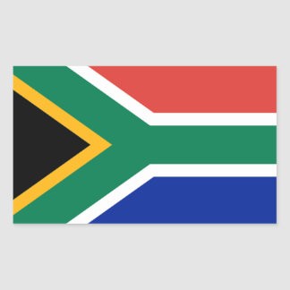 Flag of South Africa Rectangular Sticker