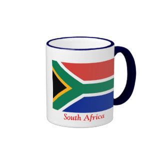 Flag of South Africa Ringer Mug