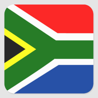 Flag of South Africa Square Sticker