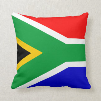 flag of south africa throw pillow