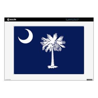 """Flag of South Carolina 15"""" Laptop Decal"""