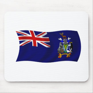 Flag of South Georgia and South Sandwich Islands Mouse Pad
