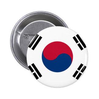 Flag of South Korea - 태극기 - 대한민국의 국기 Button