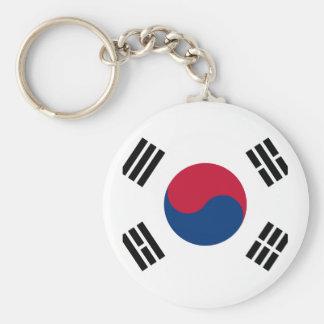 Flag of South Korea - 태극기 - 대한민국의 국기 Keychain