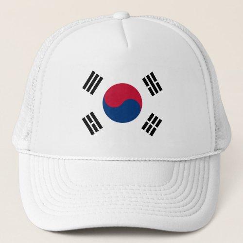 Flag of South Korea _ 태êê _ ëŒíœëêµì êµê Trucker Hat