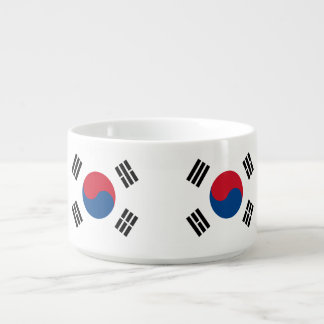 Flag of South Korea Bowl