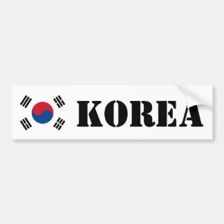 Flag of South Korea Car Bumper Sticker