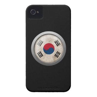 Flag of South Korea Disc iPhone 4 Case