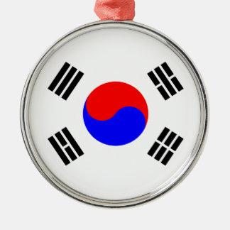 Flag of South Korea Metal Ornament