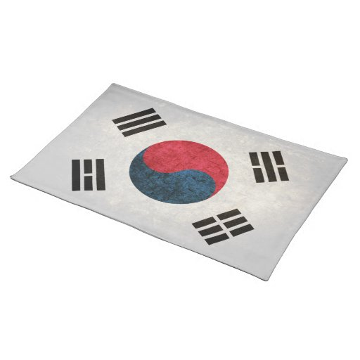 Flag of South Korea Placemat