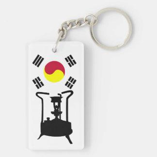Flag of South Korea   Pressure stove Keychain