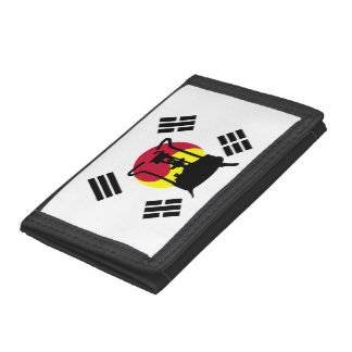 Flag of South Korea | Pressure stove Trifold Wallet